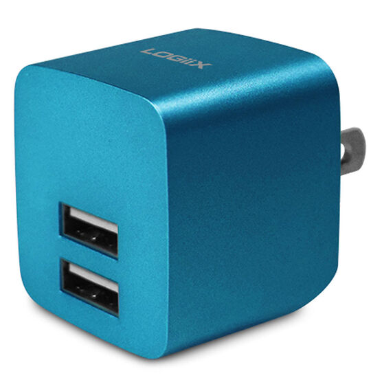 Logiix USB Power Cube Rapide - Turquoise - LGX11748