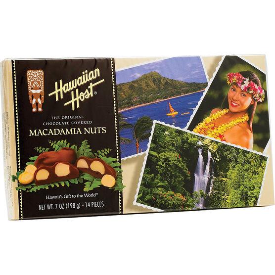 Hawaiian Host Chocolate Covered Macadamia Nuts - 198g