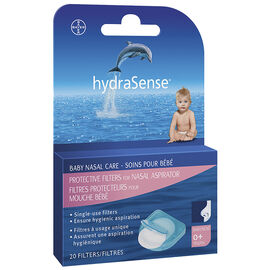 hydraSense Protective Filters for Nasal Aspirator - 20's