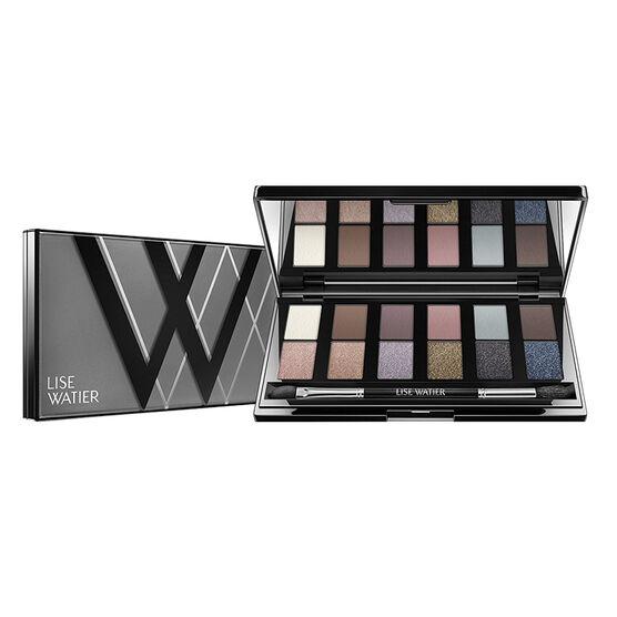 Lise Watier Smokey Nudes 12-Colour Eyeshadow Palette
