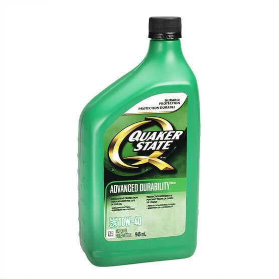 Quaker State 10W-40 Advanced Durability Motor Oil - 946ml