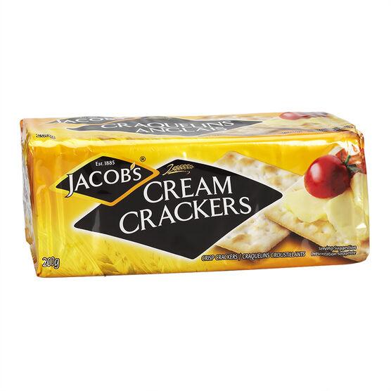 Jacob's Cream Crackers - 200g