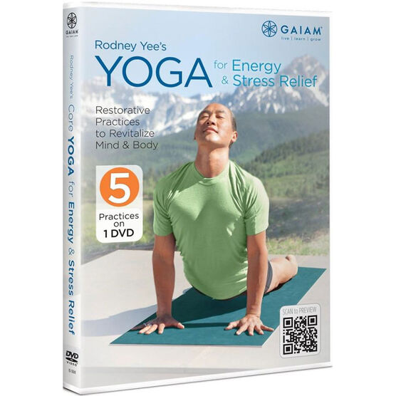 Rodney Yee'S Yoga For Energy & Stress Relief - DVD