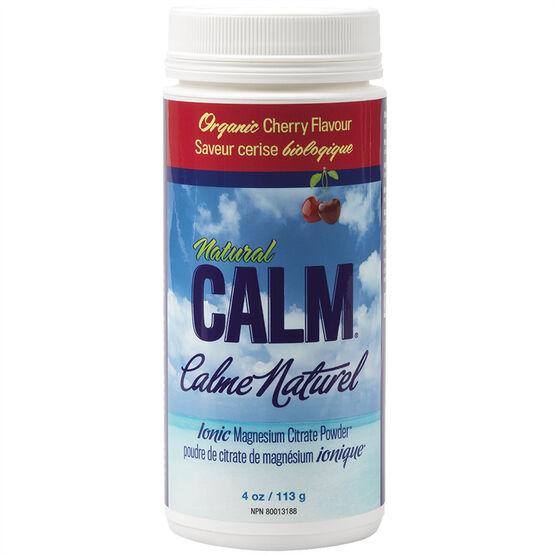 Natural Calm Ionic Magnesium Citrate Powder - Organic Cherry - 113g
