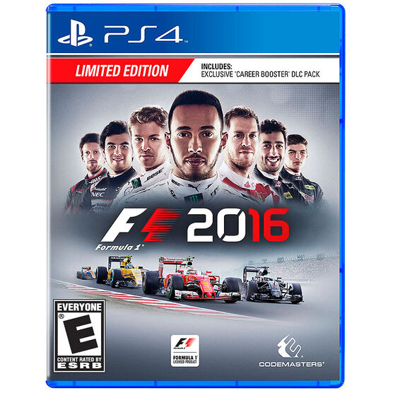 PS4 Formula 1 Launch Edition