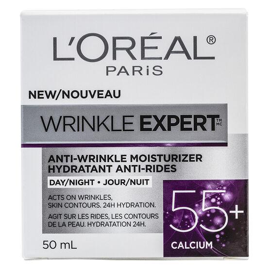 L'Oreal Wrinkle Expert Anti-Wrinkle Moisturizer - 55+ Calcium - 50ml