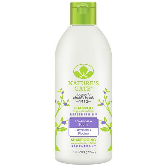 Nature's Gate Shine Replenishing Shampoo - Lavender & Peony - 532ml