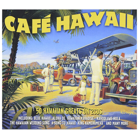 Various Artists - Cafe Hawaii - 2 CD