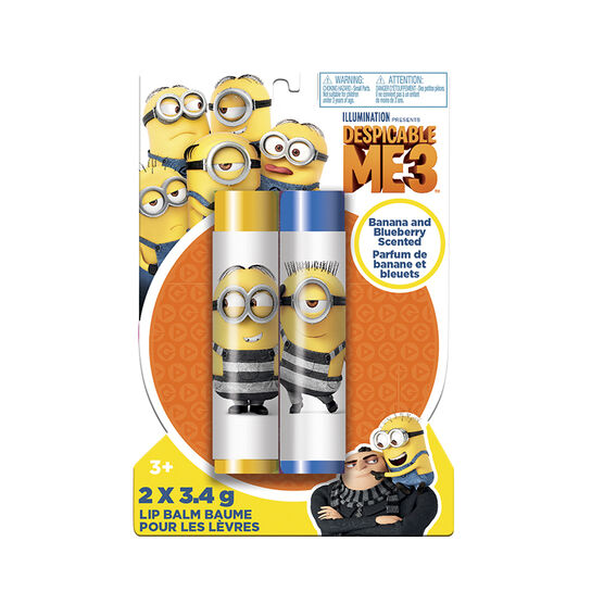 Despicable Me3 Lip Balm - 2 x 3.4g