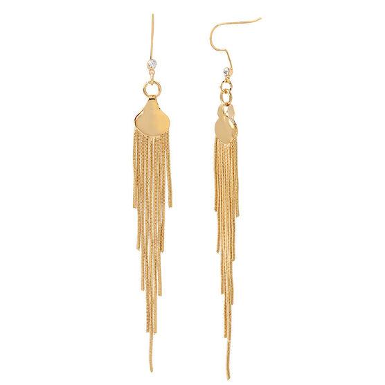 Haskell Fringe Earrings - Gold