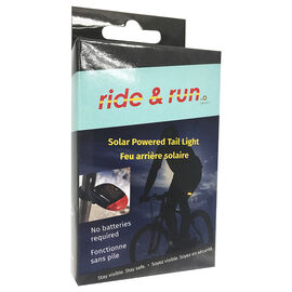 Smart Accessories Ride Run Bike Tail Light - Solar/LED - 1402649
