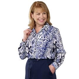 Silvert's Women's Long Sleeve Blouse - Petite 6 - 16