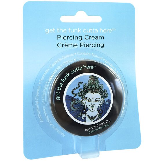 Tatts For Ever Get The Funk Outta Here Piercing Cream - 21g