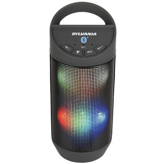 Sylvania Bluetooth Neon Light Speaker - Black - SP606BT