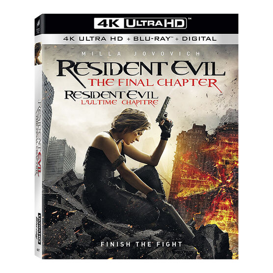 Resident Evil: The Final Chapter - 4K UHD Blu-ray