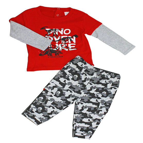 Baby Mode Dino Adventure Outfit - 12-24 months - Assorted
