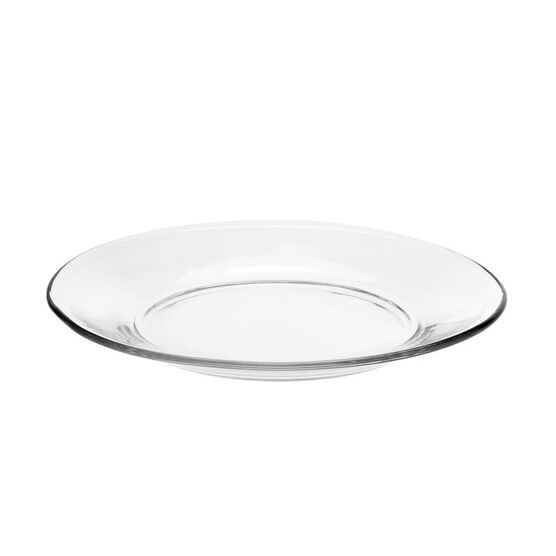 Moderno Salad Plate - Clear - 7.5inch