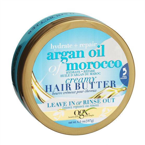 OGX Argan Oil of Morocco Creamy Hair Butter - 187g