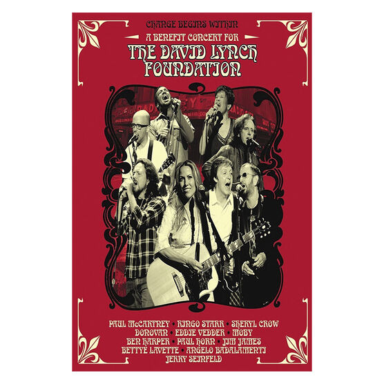 Change Begins Within: A Benefit Concert for the David Lynch Foundation - DVD