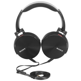 Sony Extra Bass Smartphone-capable Premium Headphones - Black - MDRXB950AP