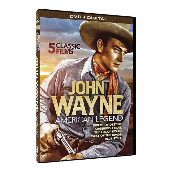 John Wayne: American Legend 5 Film Collection - DVD