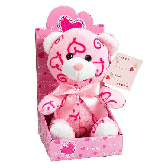 Valentine Plush Love Bears 7 inch - Assorted