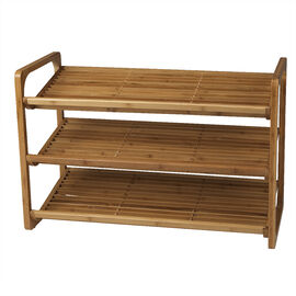 London Drugs Bamboo Shoe Rack - Natural