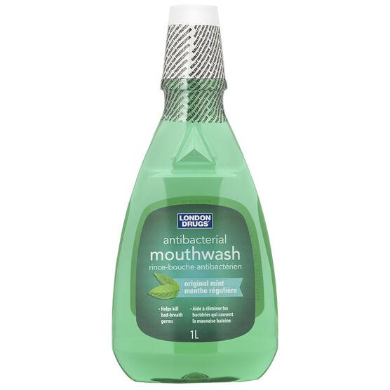 London Drugs Antibacterial Mouthwash - Original Mint - 1L