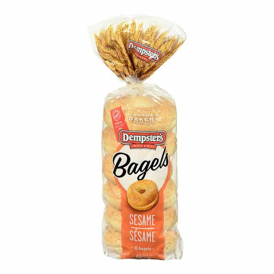 Dempster's Sesame Bagels -6's- 450g