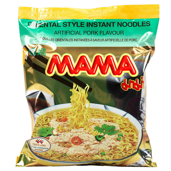 Mama Oriental Style Instant Noodles - Pork