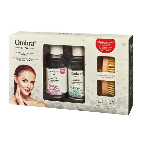 Ombra SPA Aromatic Foam Bath Gift Set