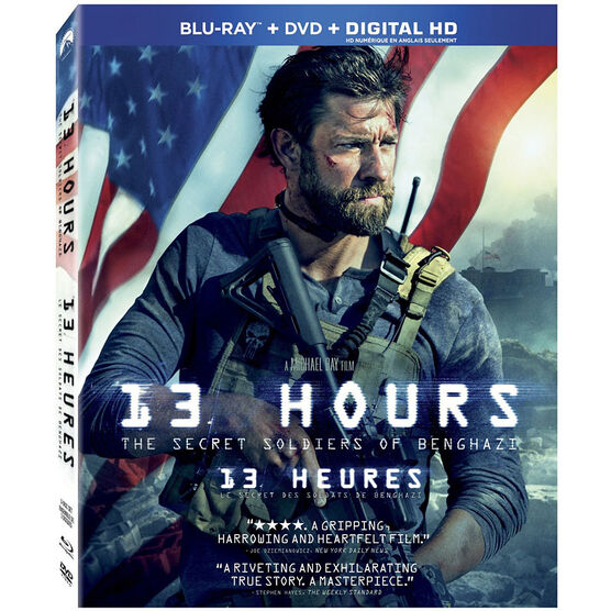 13 Hours: The Secret Soldiers of Benghazi - Blu-ray