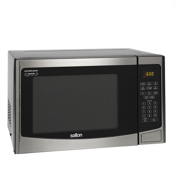Salton 1.2 cu.ft. Microwave - Stainless Steel - 30PX98F