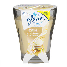Glade Jar Candle - Vanilla Cupcake