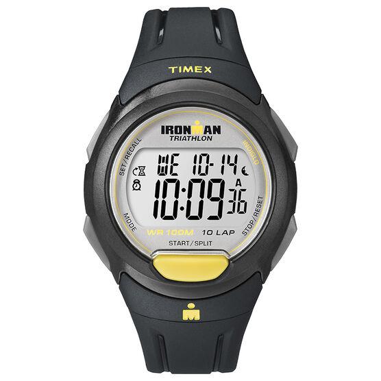 Timex Ironman 10 Lap Watch - Grey - T5K779GP
