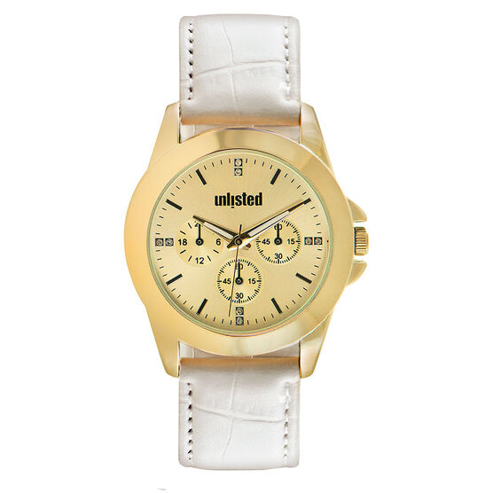 Unlisted by Kenneth Cole Women's Chronograph Watch - 10032074