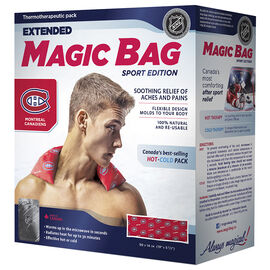 Magic Bag Sport Edition Hot/Cold Pad - Canadiens Extended - 11501