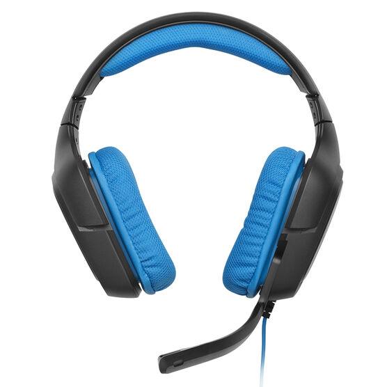 Logitech G430 Surround Sound Gaming Headset - Black/Blue - 981-000536