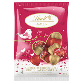 Lindt Amour Valentine Hearts - 103g