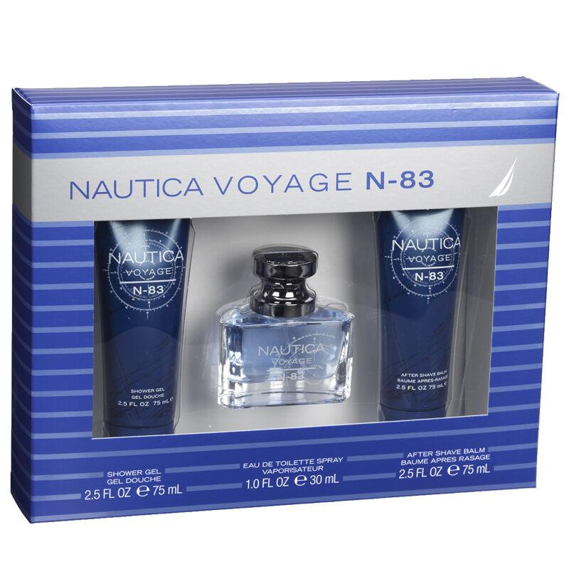 Nautica Voyage N83 Men's Fragrance Gift Set - 3 piece | London Drugs