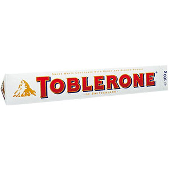 Toblerone White Chocolate - 100g