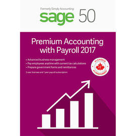 Sage 50 Premium with Payroll Accounting 2017
