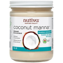 Nutiva Organic Coconut Manna Pureed Coconut - 425ml