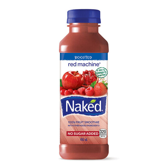 Naked Fruit Smoothie - Red Machine - 450ml