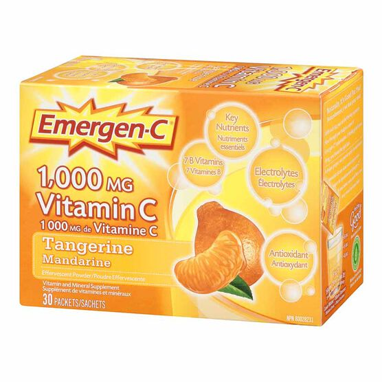 Emergen-C - Tangerine - 30's