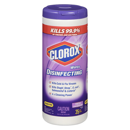 Clorox Disinfecting Wipes - Lavender Clean  - 35's