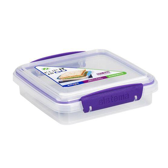 Sistema Sandwich Box To Go - Assorted - 450ml
