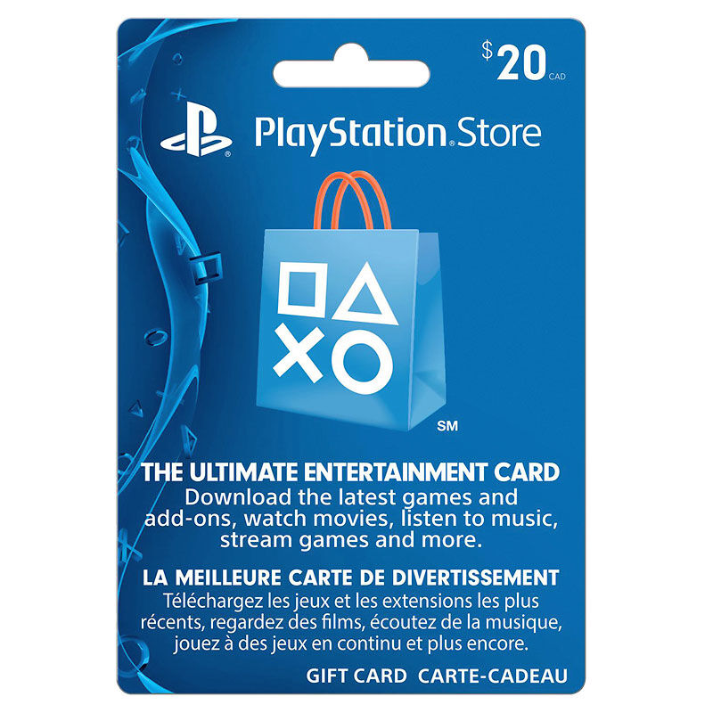 Playstation Network Gift Card - $20 | London Drugs