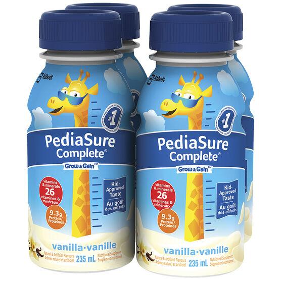 PediaSure Complete  - Vanilla - 4 x 235ml
