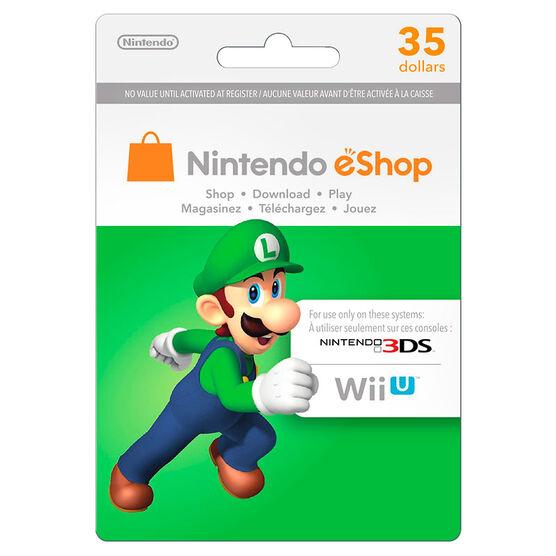 Nintendo eShop Gift Card - $35